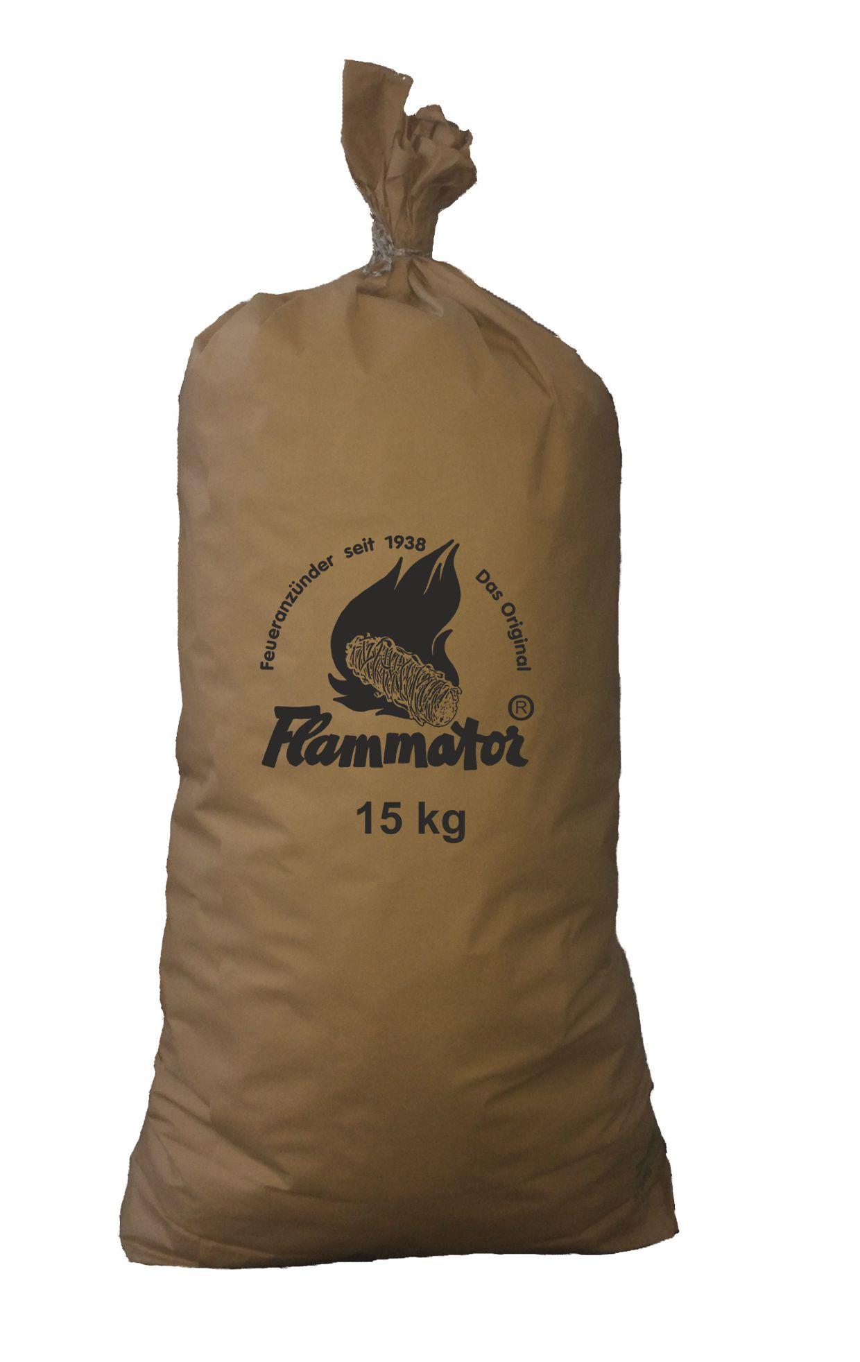 Flammator im Papiersack à 15 kg