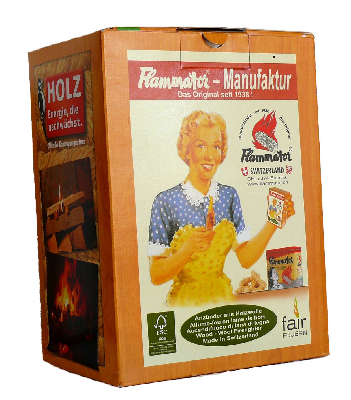 Flammator Schachtel à 600g Karton