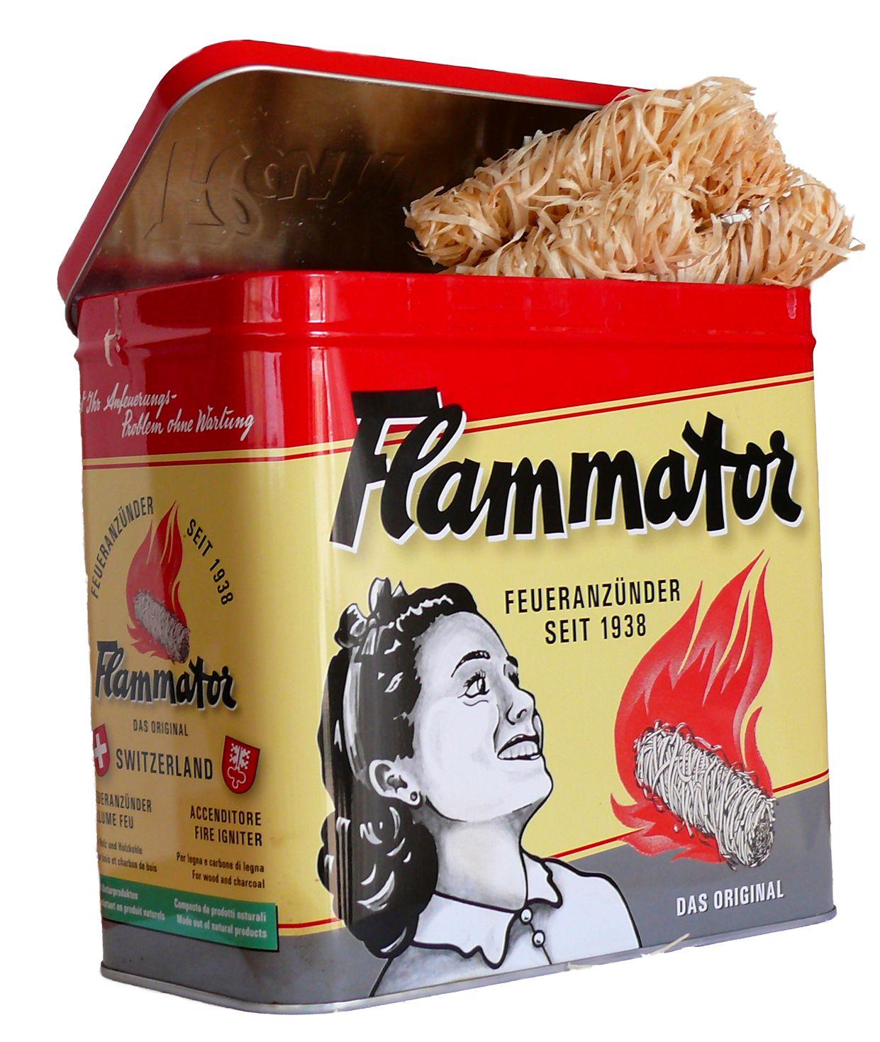 Flammator Nostalgiebox 600g Karton