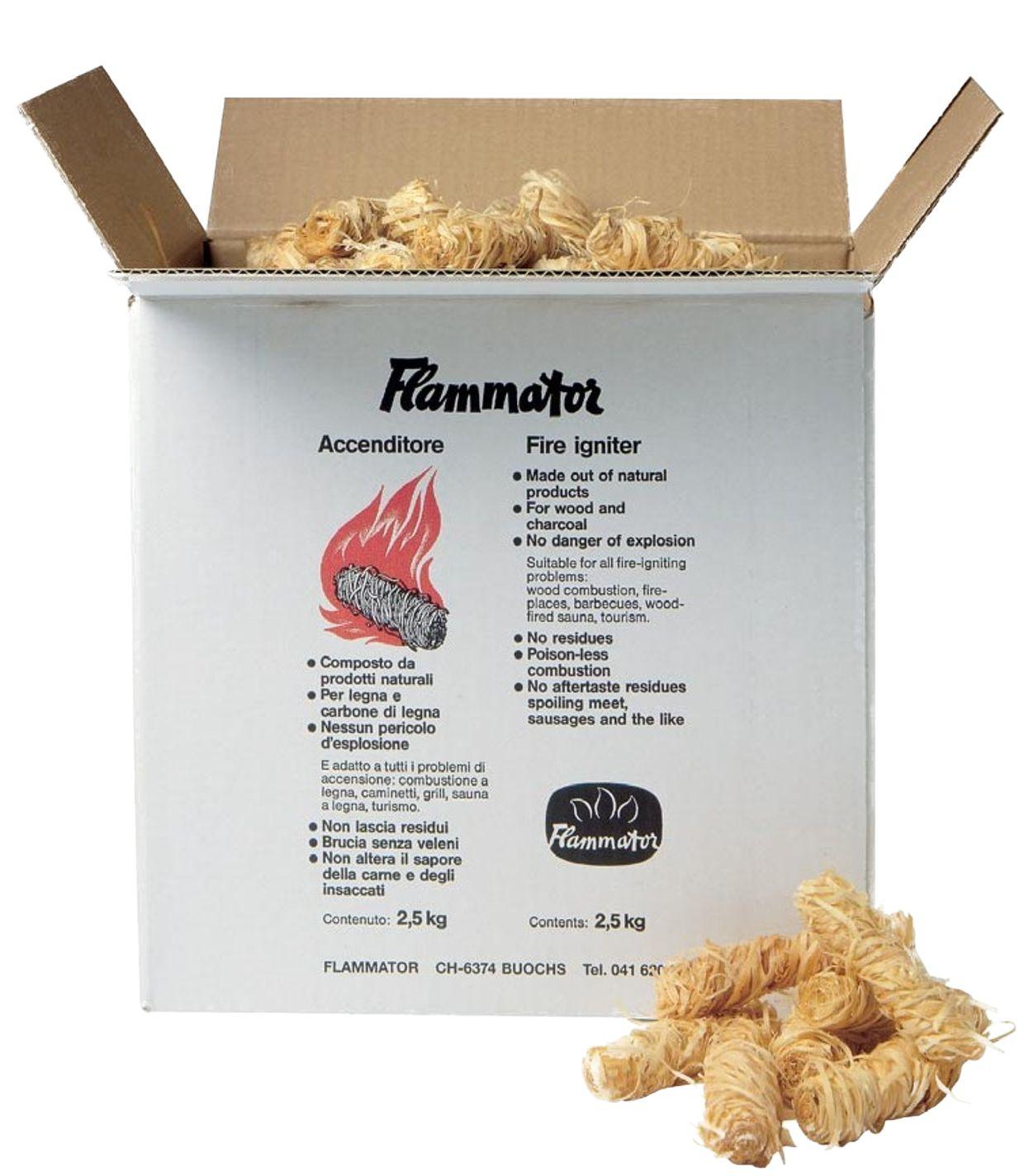 Flammator Schachtel à 2.5kg